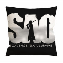 Sword Art Online Sao Logo Cushion Case / Pillow Case
