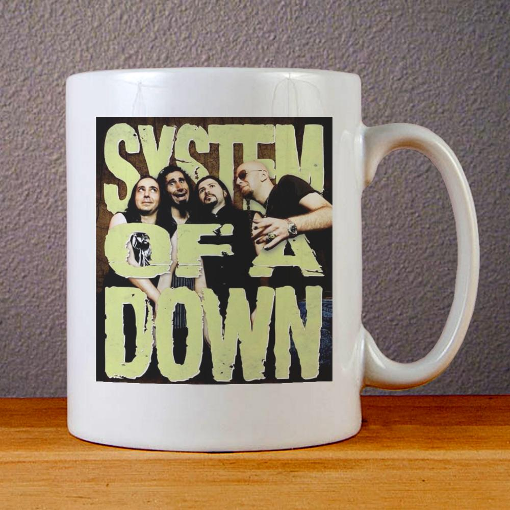 System of a Down Tour Ceramic Coffee Mugs