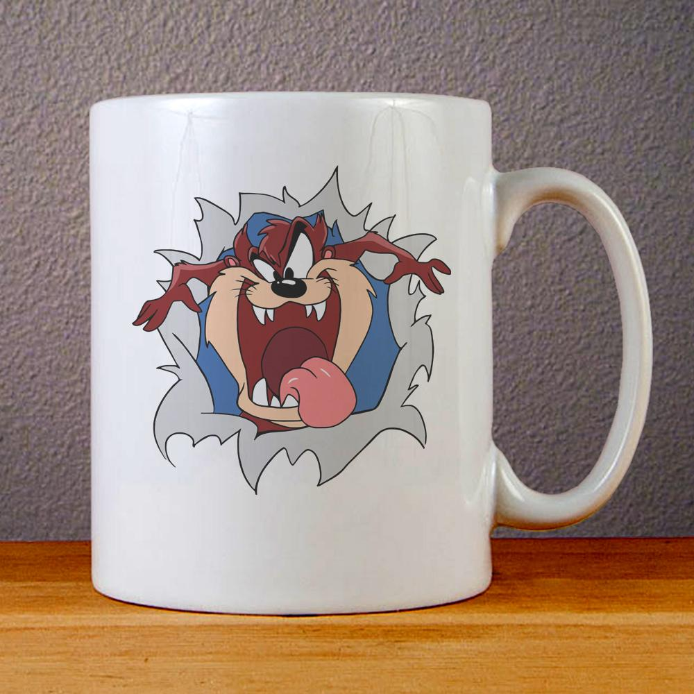 Tazmanian Devil Ceramic Coffee Mugs
