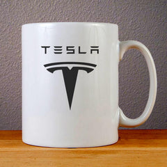 Tesla Motors Logo Ceramic Coffee Mugs