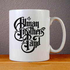 The Allman Brothers Band Logo Ceramic Coffee Mugs