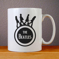 The Beatles Band Logo Ceramic Coffee Mugs