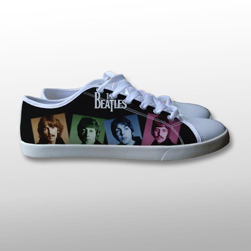 The Beatles Canvas Shoes