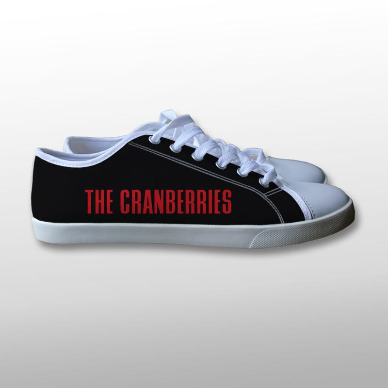 The Cranberries Logo Canvas Shoes