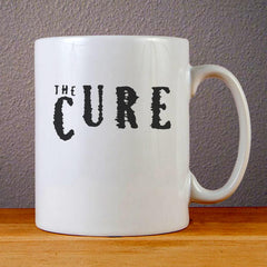 The Cure Logo Ceramic Coffee Mugs