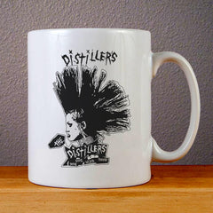 The Distillers Punk Rock Band Ceramic Coffee Mugs