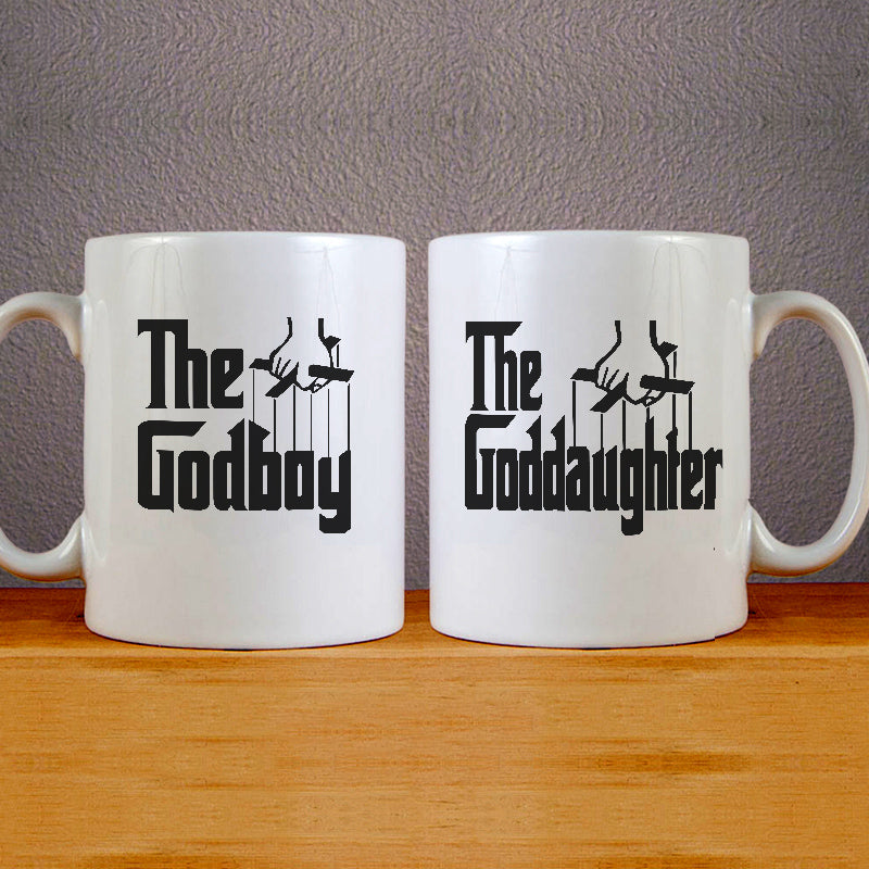 The Godboy and The Goddaughter Mug Couples Mug Set Wedding Mug Couples Gift Set
