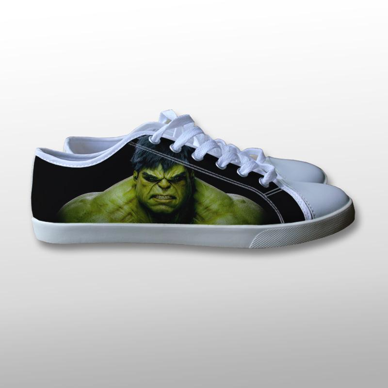 The Incredible Hulk Canvas Shoes