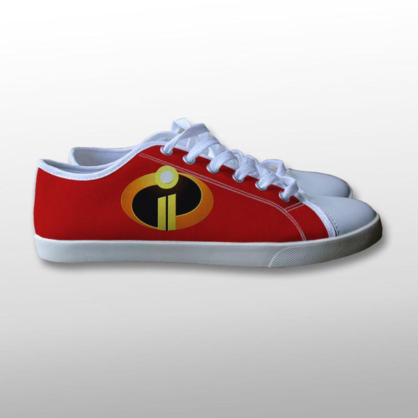 The Incredibles 2 Logo Canvas Shoes