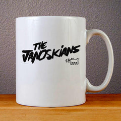 The Janoskians Logo Ceramic Coffee Mugs