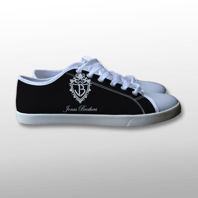 The Jonas Brothers Logo Canvas Shoes