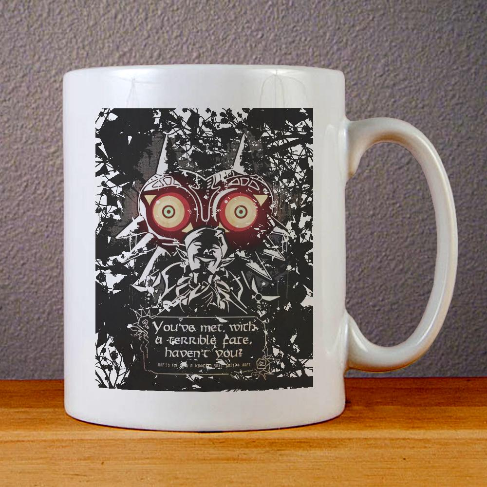 The Legend of Zelda Majoras Mask Ceramic Coffee Mugs