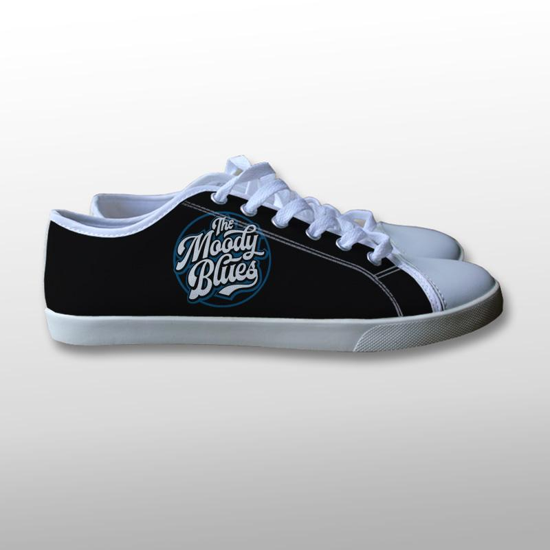 The Moody Blues Band Canvas Shoes