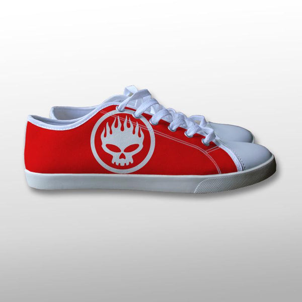 The Offspring Logo Canvas Shoes