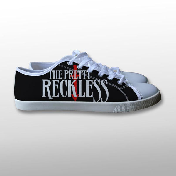 The Pretty Reckless Logo Canvas Shoes