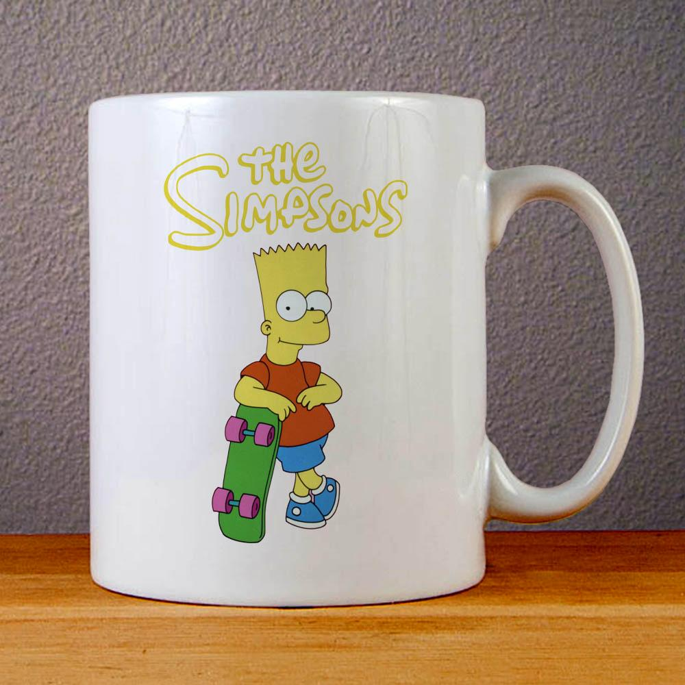 The Simpsons Bart Simpsons Ceramic Coffee Mugs
