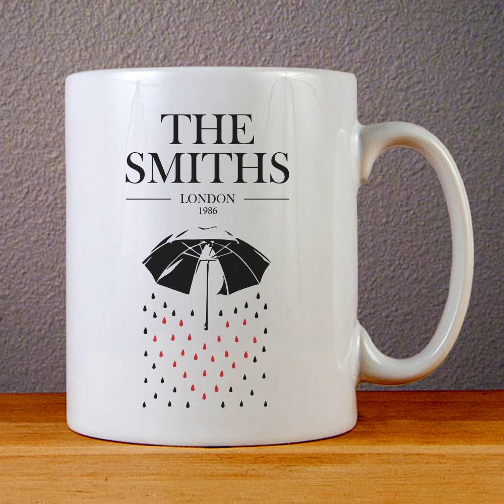 The Smiths London 1986 Ceramic Coffee Mugs