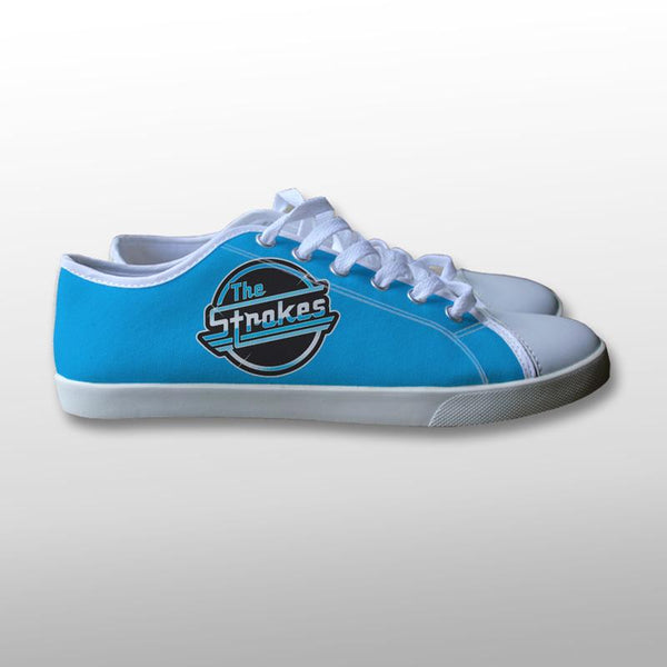 The Strokes Band Logo Canvas Shoes