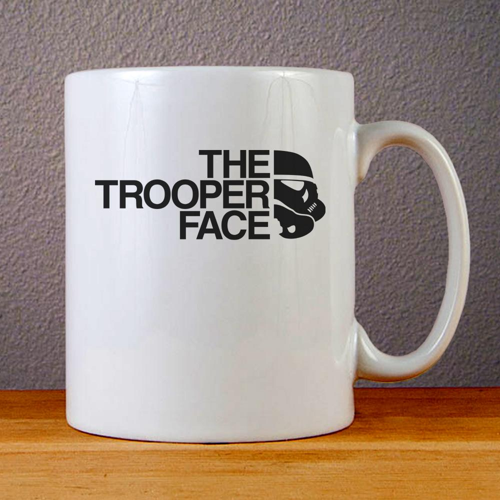 The Trooper Face Ceramic Coffee Mugs