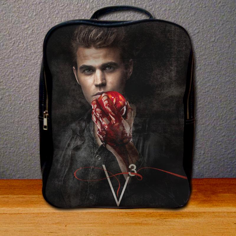 The Vampire Diaries Stefan Salvatore Backpack for Student