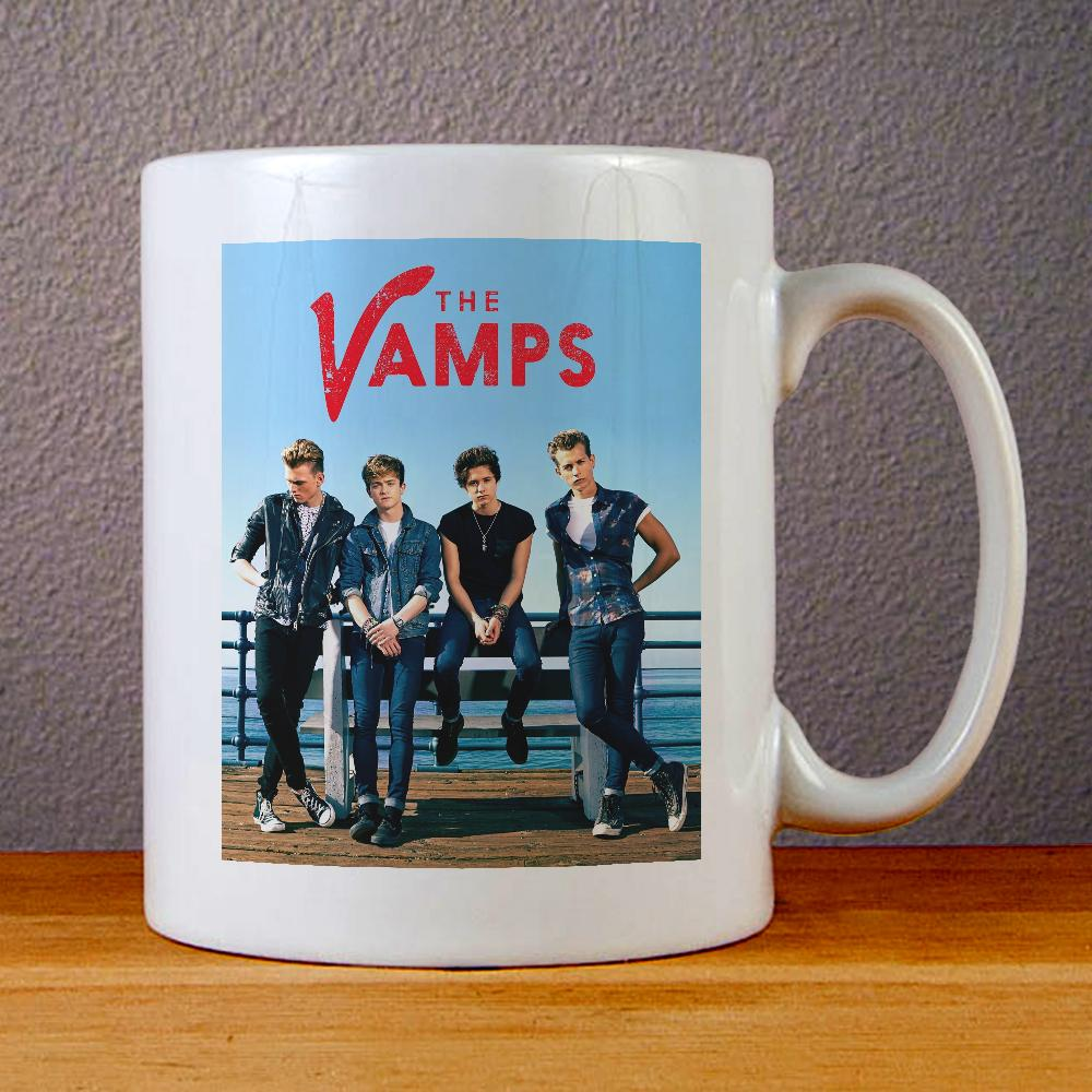 The Vamps Band Ceramic Coffee Mugs