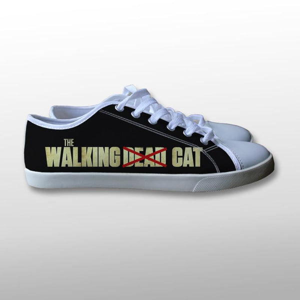 The Walking Cat Canvas Shoes