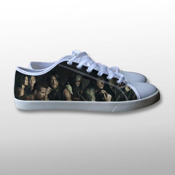 The Walking Dead Canvas Shoes