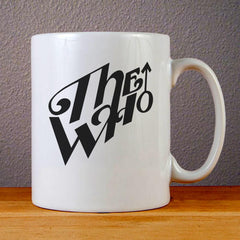 The Who Band Logo Ceramic Coffee Mugs