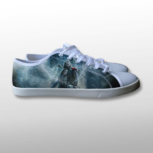 Thor The Dark World Canvas Shoes
