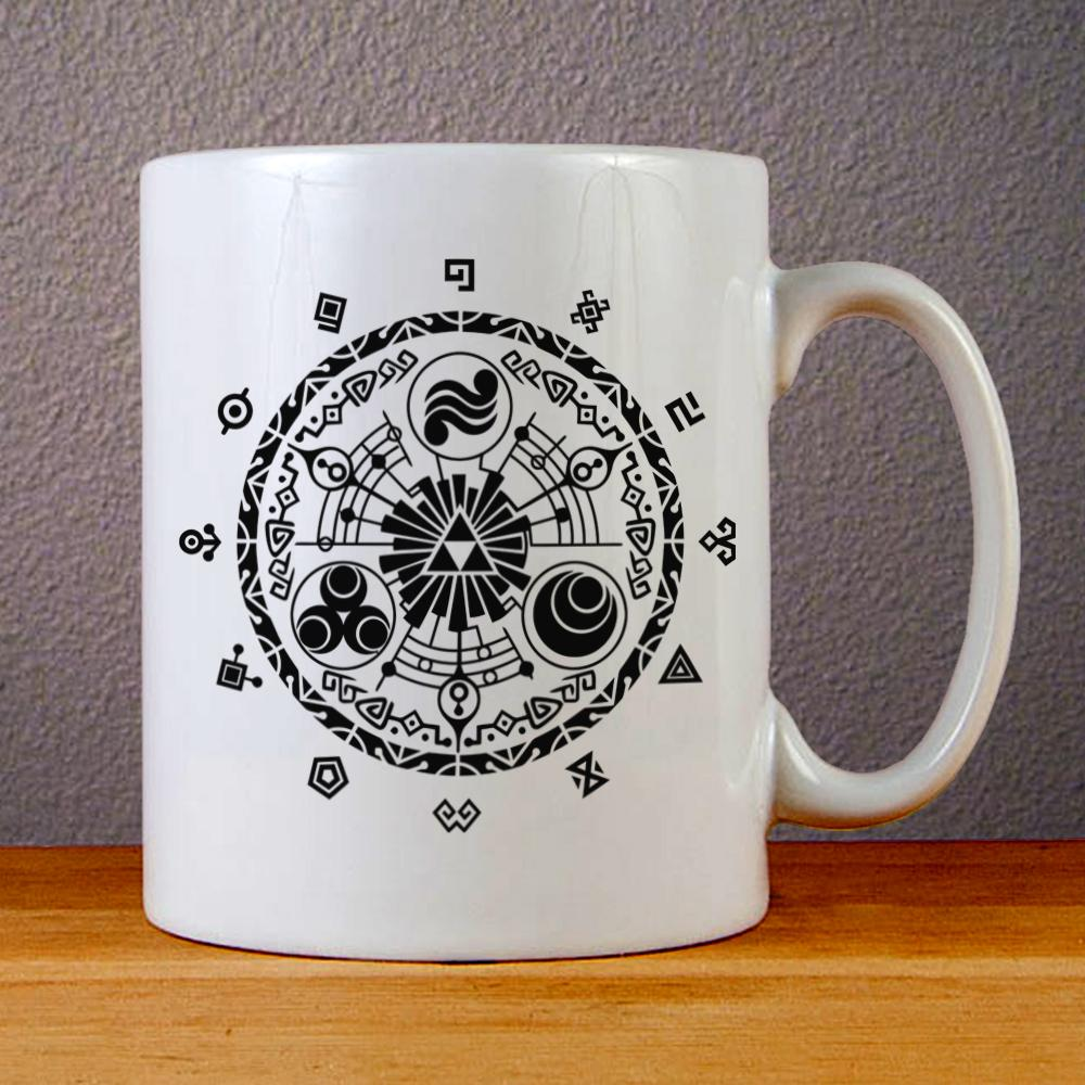 Time Gate Zelda Ceramic Coffee Mugs