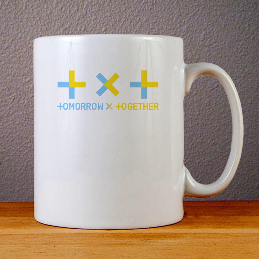 Tomorrow X Together Logo Ceramic Coffee Mugs