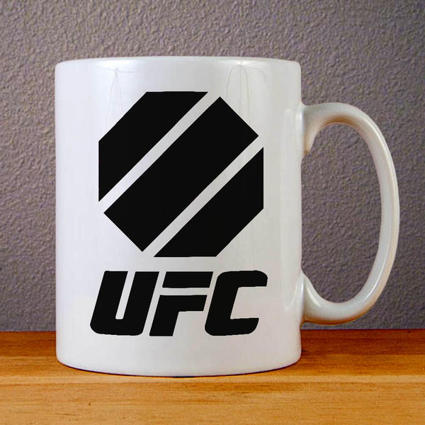 UFC Octagon Logo Ceramic Coffee Mugs