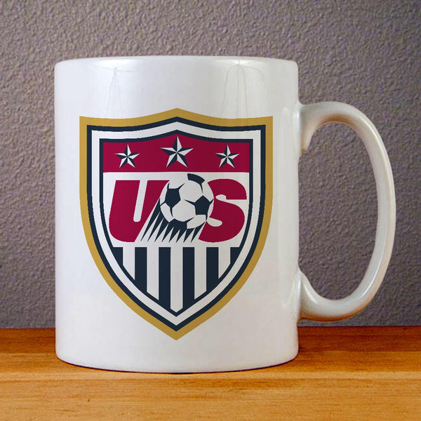 US Soccer Logo Ceramic Coffee Mugs