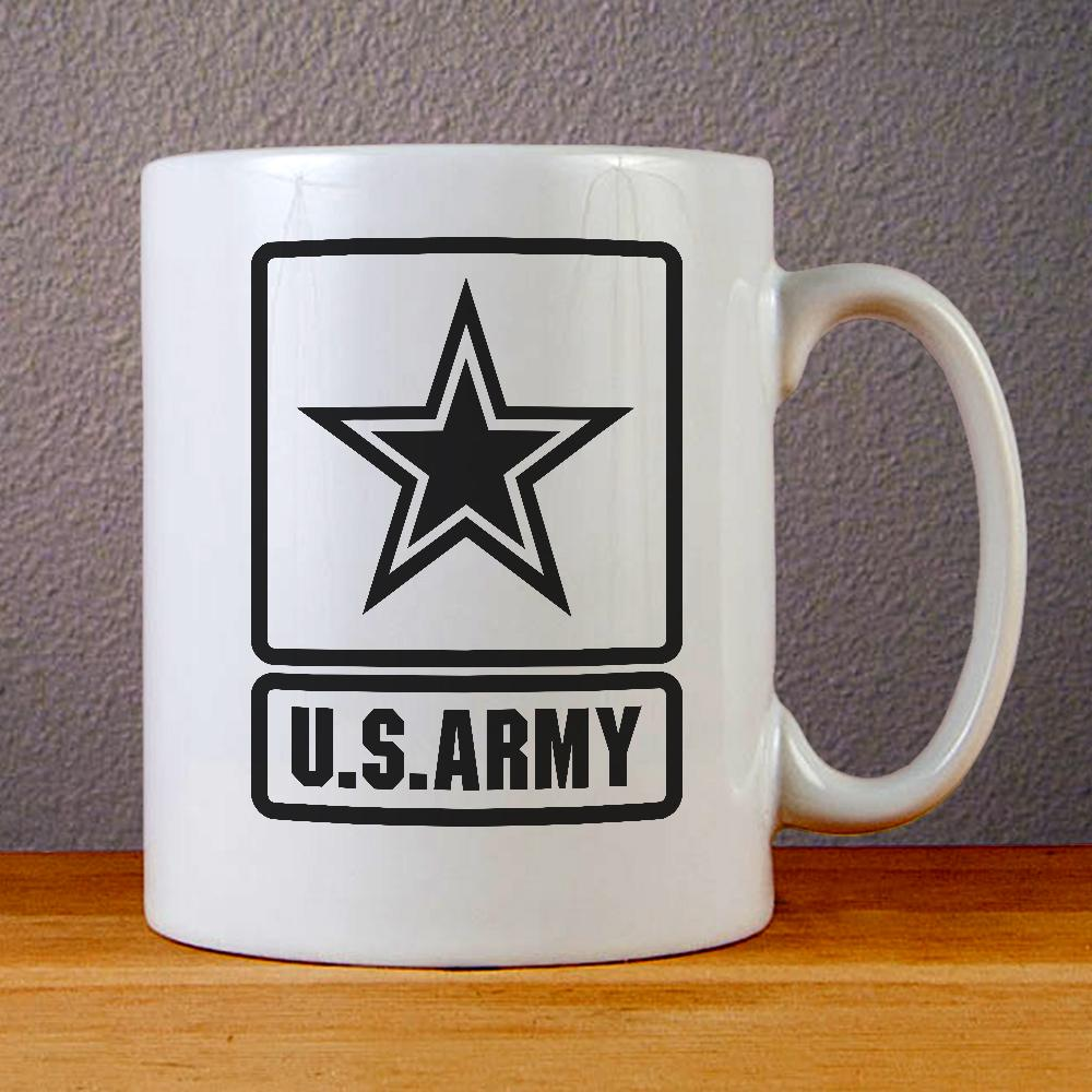 U S Army Logo Ceramic Coffee Mugs