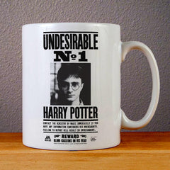 Undesirable Number 1 Harry Potter Ceramic Coffee Mugs