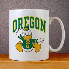 University of Oregon Ducks Ceramic Coffee Mugs