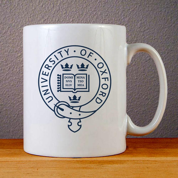 University of Oxford Ceramic Coffee Mugs