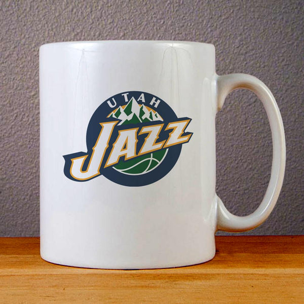 Utah Jazz Logo Ceramic Coffee Mugs