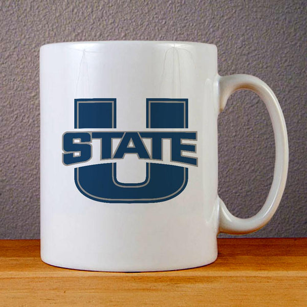 Utah State Football Ceramic Coffee Mugs