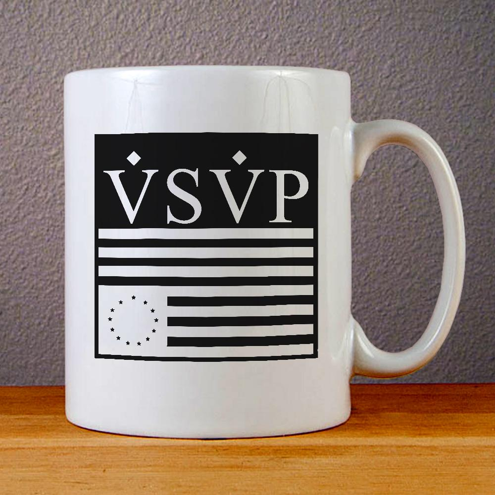 VSVP Logo Ceramic Coffee Mugs