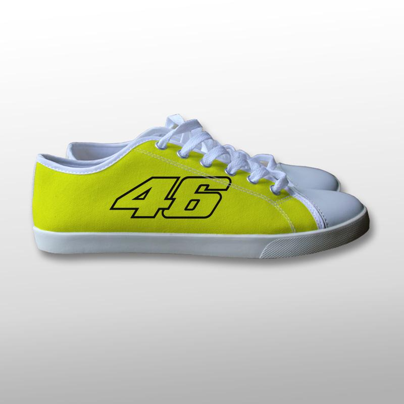 Valentino Rossi 46 Canvas Shoes
