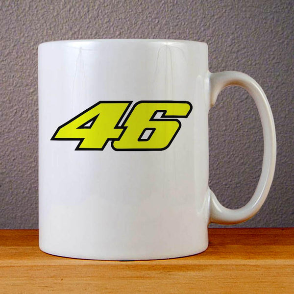 Valentino Rossi 46 Ceramic Coffee Mugs