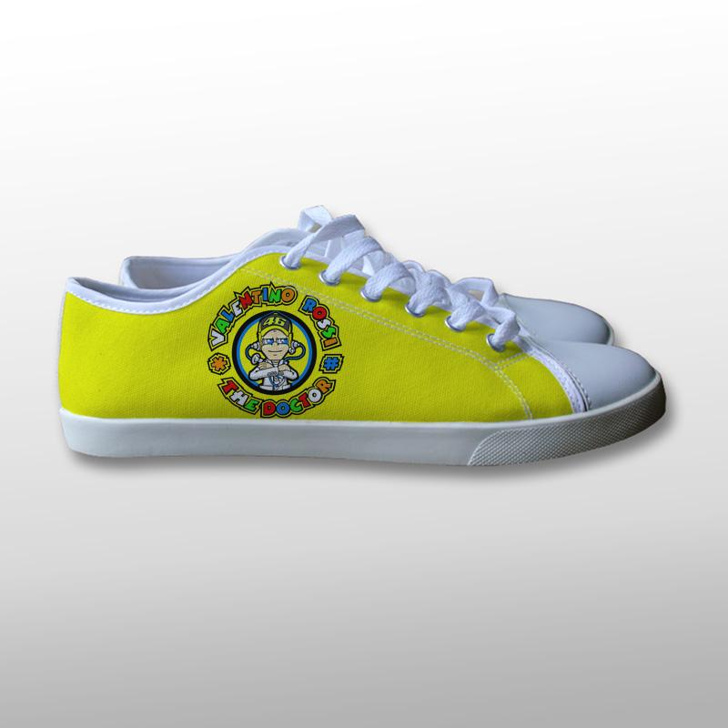 Valentino Rossi The Doctor Logo Canvas Shoes