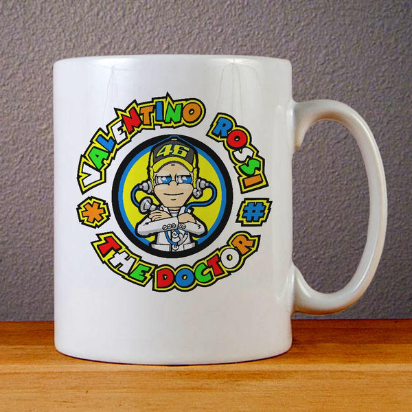 Valentino Rossi The Doctor Logo Ceramic Coffee Mugs
