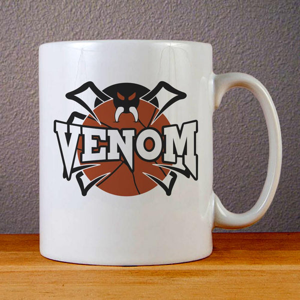 Venom Basketball Logo Ceramic Coffee Mugs