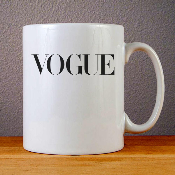 Vogue Ceramic Coffee Mugs