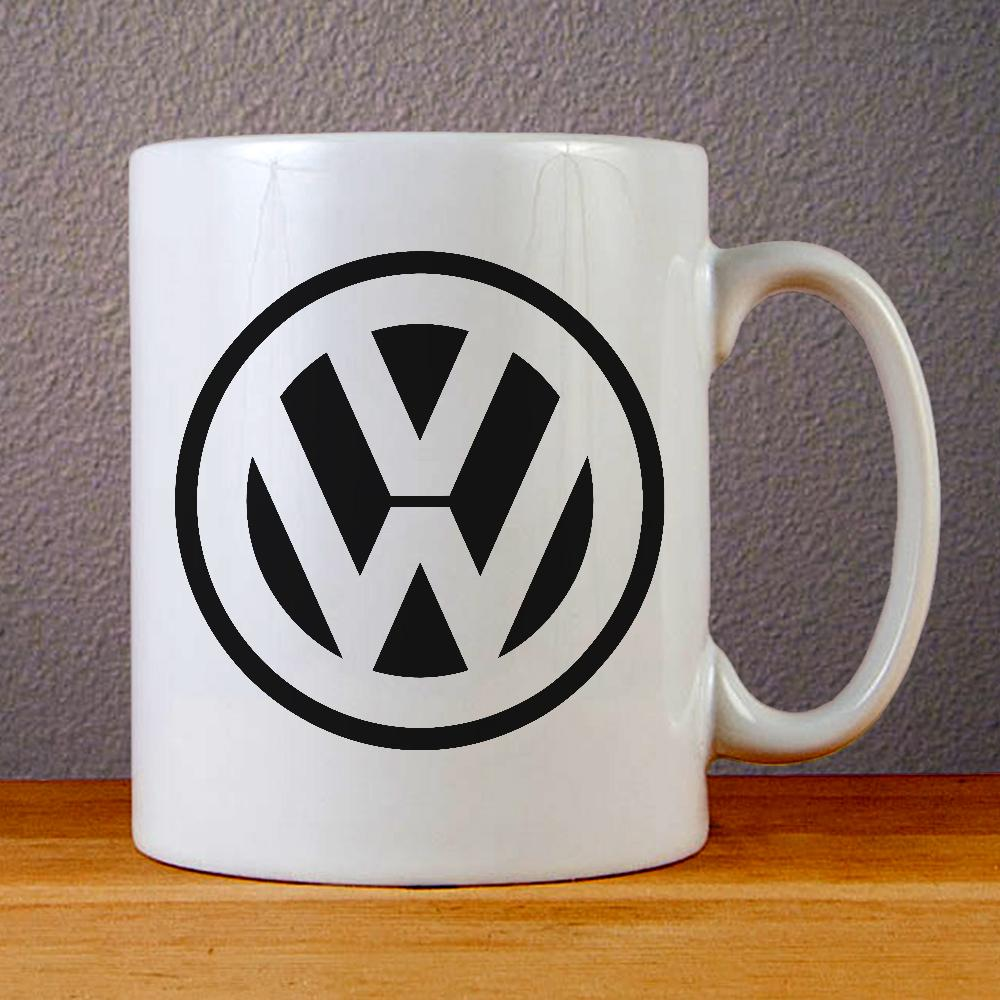 Volkswagen Logo Ceramic Coffee Mugs