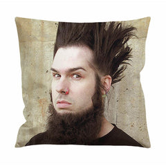 Wayne Static Hair Style Cushion Case / Pillow Case