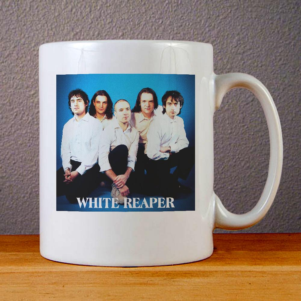 White Reaper Band Ceramic Coffee Mugs