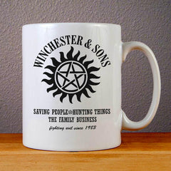 Winchesters and Sons Ceramic Coffee Mugs
